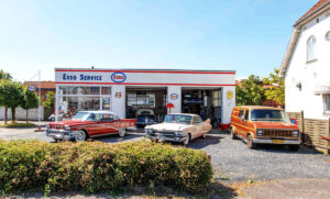Nemesis Us Car shop esso tanken i soroe